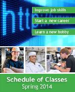 Graphic for Spring 2014 classes